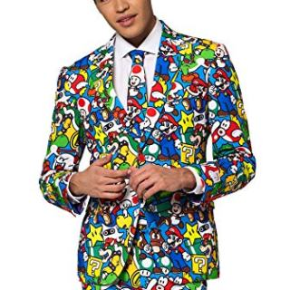 OppoSuits Funny Everyday Suits for Men Comes