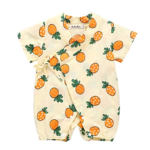 YOUNGER TREE Kimono Newborn Outfit Bodysuit Jumpsuit