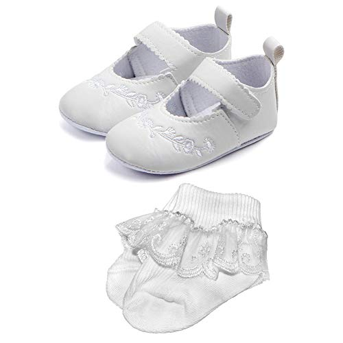 NewJourney Baby Girl Christening Baptism Shoes