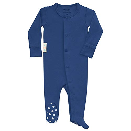 Organic Baby Onesie Footed Pajamas | Unisex Sleeper Clothes