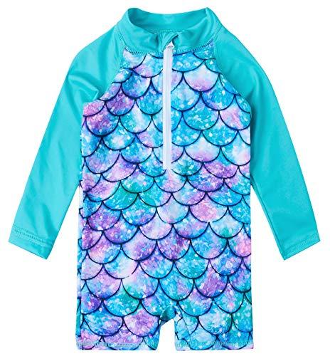 Uideazone Newborn Toddler Infant Baby Girl Mermaid Swimsuit