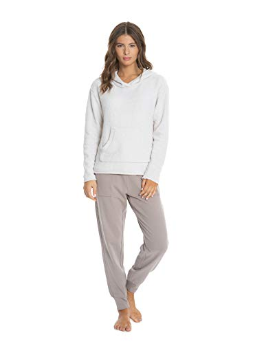 Barefoot Dreams Women's Heathered Pullover Hoodie