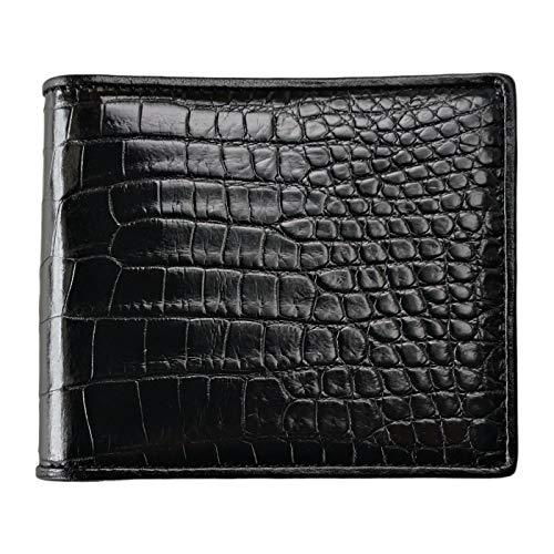 CHERRY CHICK Men's Luxury Crocodile Skin Wallet