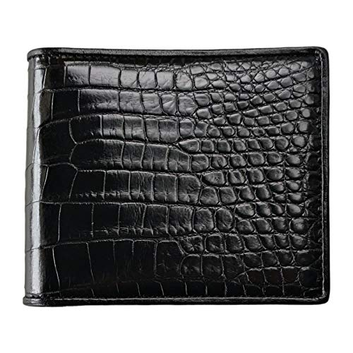 CHERRY CHICK Men's Luxury Crocodile Skin Wallet
