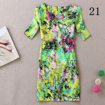 New women summer dress vestidos style plus size