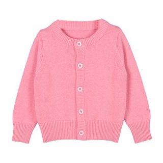 Taiycyxgan Baby Girls Boys Knits Cardigan Sweater Crew Neck Button