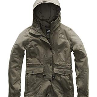 The North Face Women's Zoomie Jacket New Taupe Green Medium