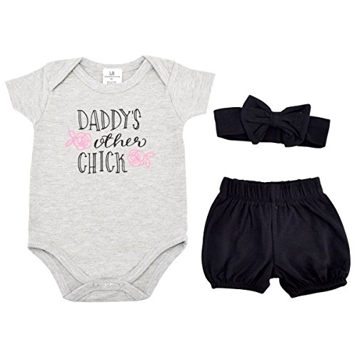 Unique Baby Girls Dads Other Chick 1st Father's Day Layette Set