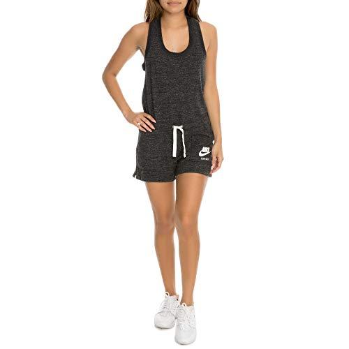 Nike Womens Sport Vintage Romper Black M