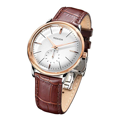Men's Wrist Watches ROCOS Automatic Mechanical Watch