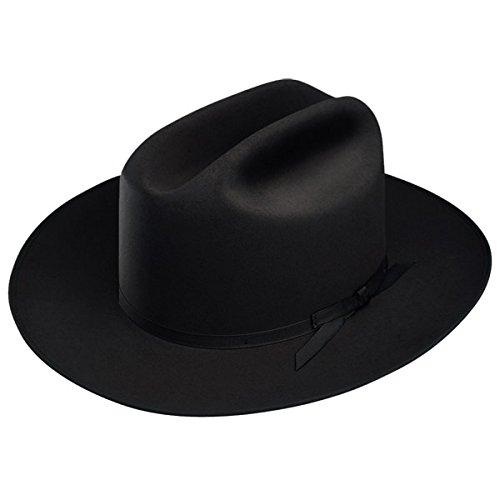 Stetson Open Road Fur Felt Hat (7 1/2, Black)