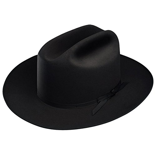 Stetson Open Road Fur Felt Hat (7 1/2, Black)