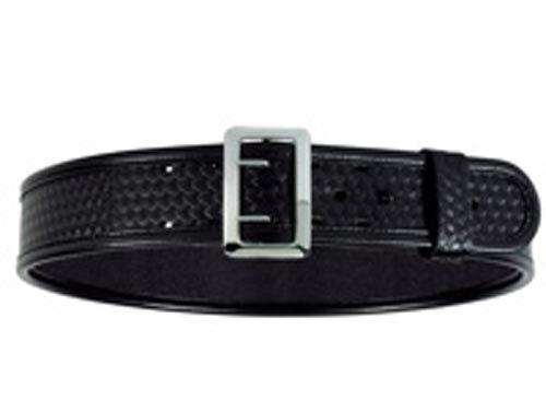 Bianchi BSK Black Sam Browne Belt with Chrome Buckle