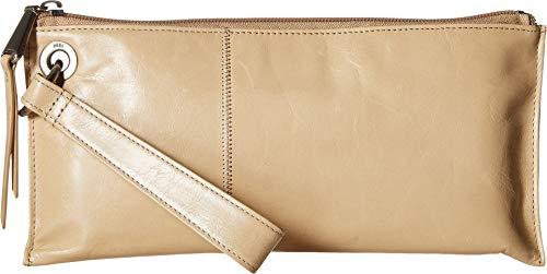 Hobo Womens Leather Vintage Vida Clutch Wallet (Parchment)
