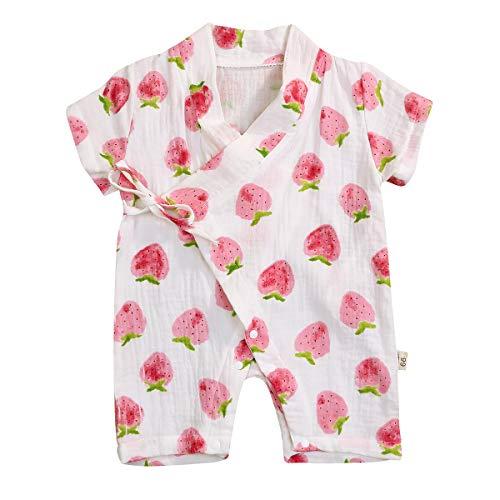 YOUNGER TREE Kimono Newborn Cotton Yarn Robe Infant Baby