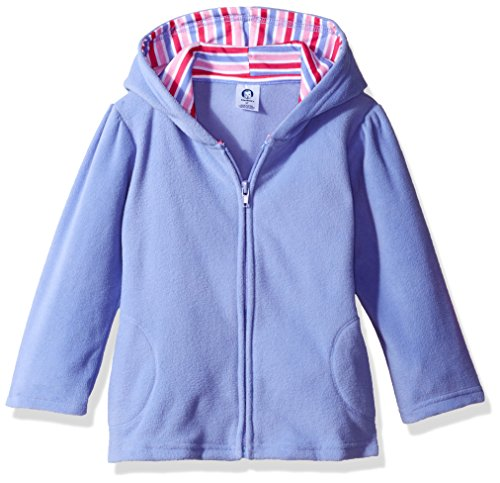 Gerber Baby Girls' Hooded Micro Fleece Jacket