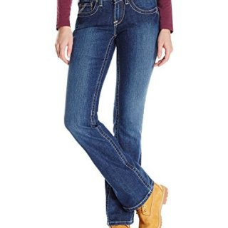 Ariat Women's Flame Resistant Mid Rise Boot Cut Jean