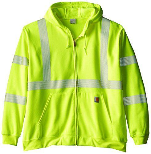 Carhartt Men's Big & Tall High Visibility Class 3 Sweatshirt