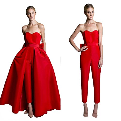 VeraQueen Women's Sweetheart Jumpsuits Evening Dresses