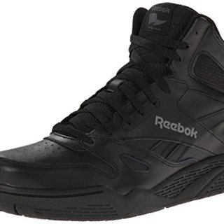 Reebok Men's Royal Hi Fashion Sneaker, Black/Shark