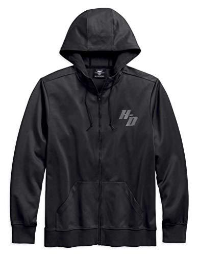 Harley-Davidson Men's H-D Zip Front Activewear Hoodie