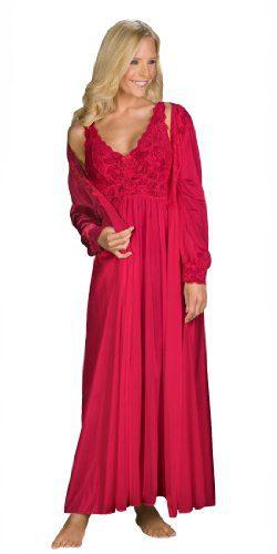 Shadowline Silhouette Gown and Peignoir Set
