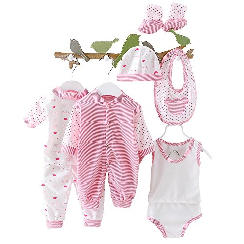 Newborn Baby Clothes Unisex Boy Girl Outfits Infant Layette Set