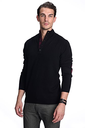 State Cashmere Men's 100% Pure Cashmere Button