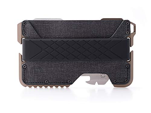 Dango T01 Tactical EDC Wallet - Made in USA - Genuine Leather