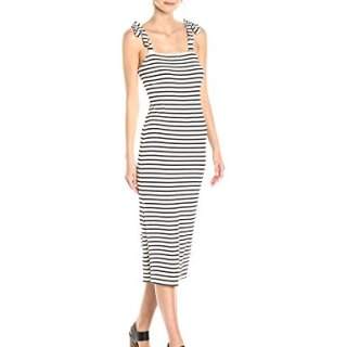 Rachel Pally Women's Roselyn Dress, Black/White Stripe S