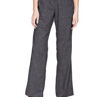 prAna Women's Mantra Pants, Large, Coal