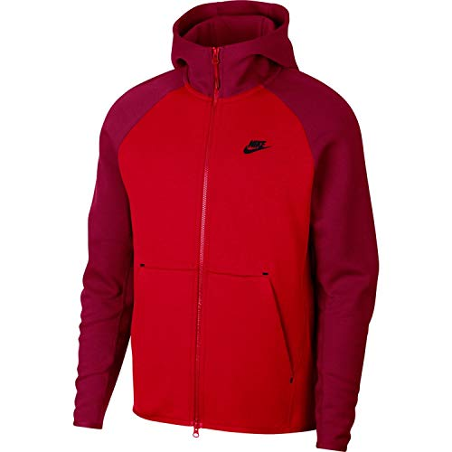 92f360c73 Nike Mens Tech Fleece Full Zip Hoodie Sweatshirt University Clout ...