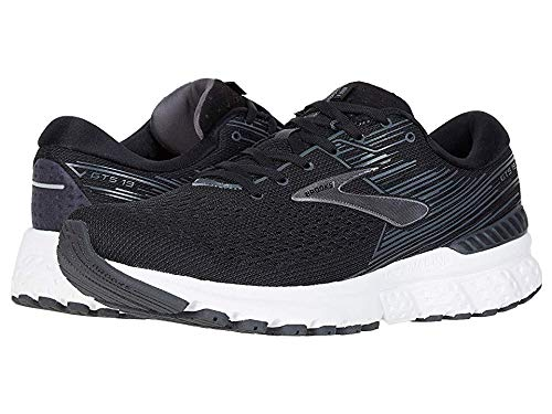Brooks Men's Adrenaline GTS 19 Black/Ebony/Silver