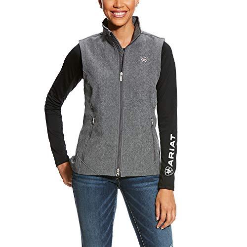 ARIAT Women's Journey Softshell Vest Charcoal Grey Size Medium
