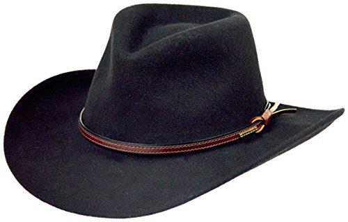 Stetson Men's Bozeman Wool Felt Crushable Cowboy Hat