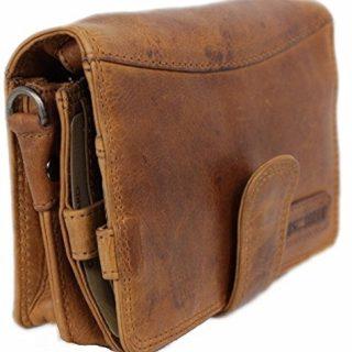 Travel Wallet For Men Women Organizer Genuine Leather Purse
