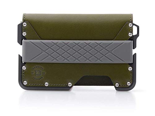 Dango D01 Dapper Bifold Wallet - Made in USA - Genuine Leather