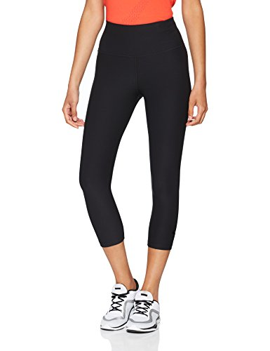 Nike Women's Sculpt Hyper Crops, Black/Clear, Large