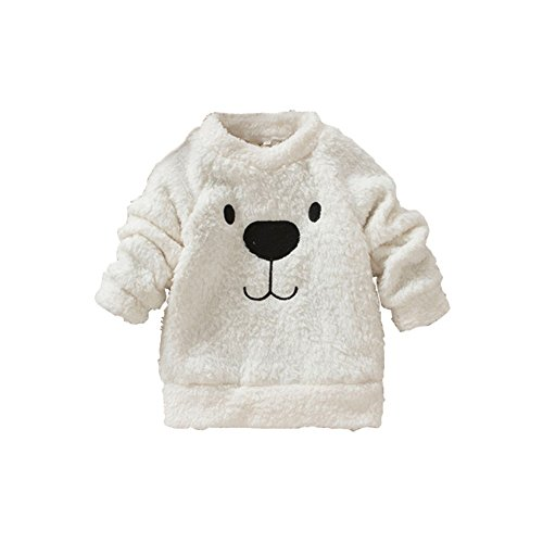 Timall Baby Cute Bear Furry White Comfortable Soft