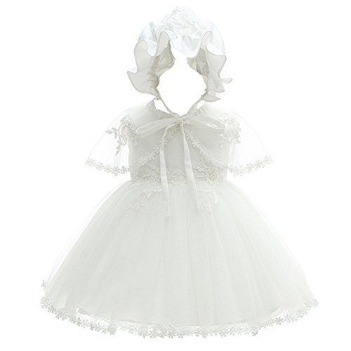 Coozy Baby Girl Christening Dress Princess Party Wedding Dress