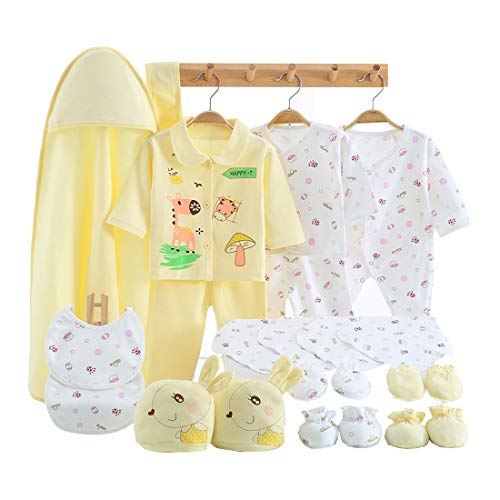 23 Pieces Newborn Girl Clothes, Baby Gifts, Layette Sets