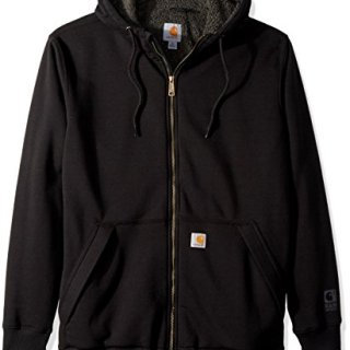 Carhartt Men's Big Big & Tall RD Rockland Sherpa Lined Hooded Sweatshirt