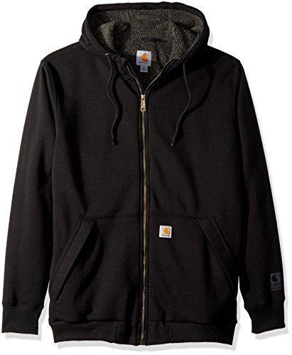 Carhartt Men's Big Big & Tall RD Rockland Sherpa Lined Hooded Sweatshirt