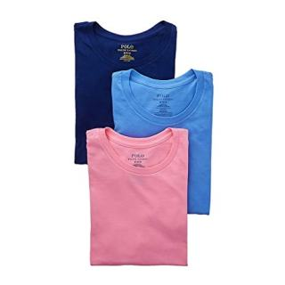 Polo Ralph Lauren Classic Fit Cotton T-Shirt 3-Pack