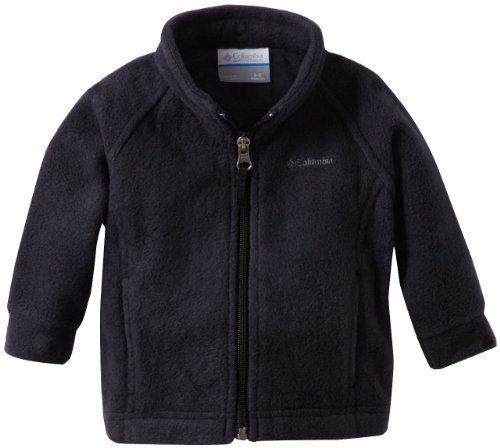 Columbia Baby Girls' Benton Springs Fleece Jacket, Black