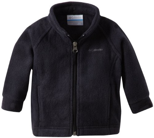 Columbia Baby Girls' Benton Springs Fleece Jacket, Black