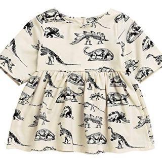 Mini honey Infant Baby Girls Summer Playwear Sun Dresses