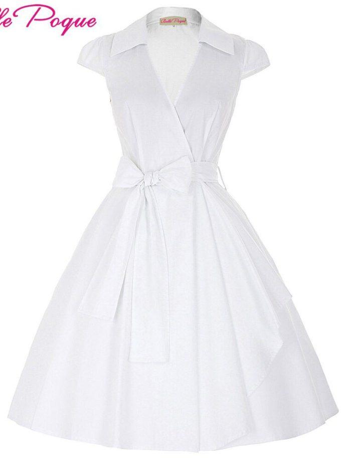 Belle Poque 18 Audrey Hepburn Summer Dresses Women