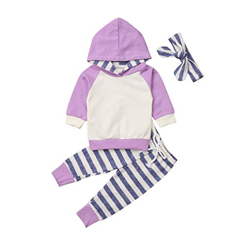 Baby Boys Girls Clothes Long Sleeve Hoodie Tops Sweatsuit Pants