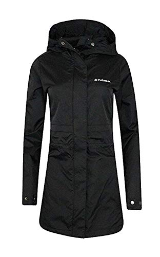 Columbia Womens Shine Struck II Waterproof Rain Mid Hooded Jacket